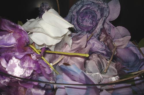 Liberty millinery purples