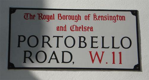 Portobello road_sign_london