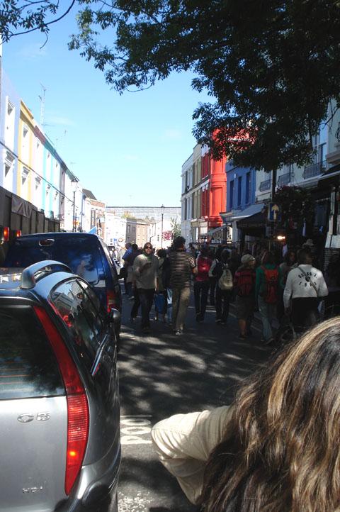 Portobello road flea market