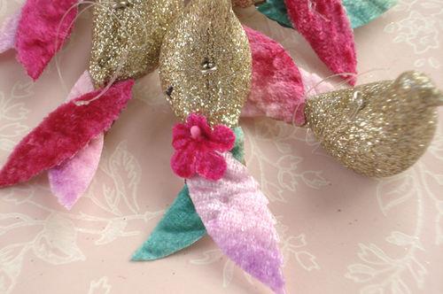 Glitter birds_flower tails