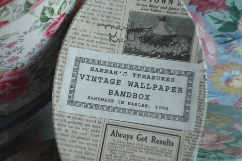 Vintage hatboxes_label