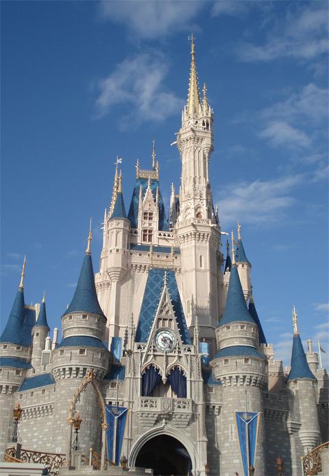 Cinderella's castle_sky