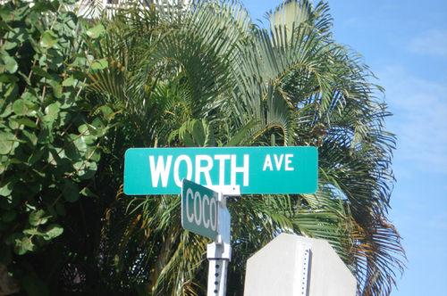 Florida_worth avenue sign