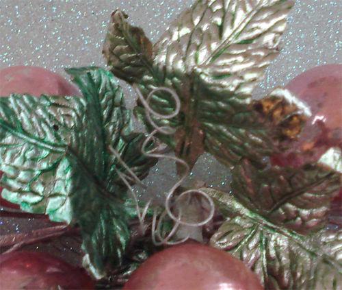 Foil leaves closeup