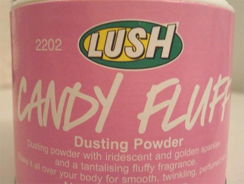Candy fluff powder