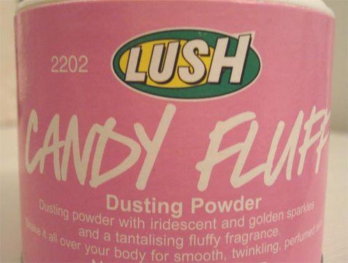 Candy fluff powder