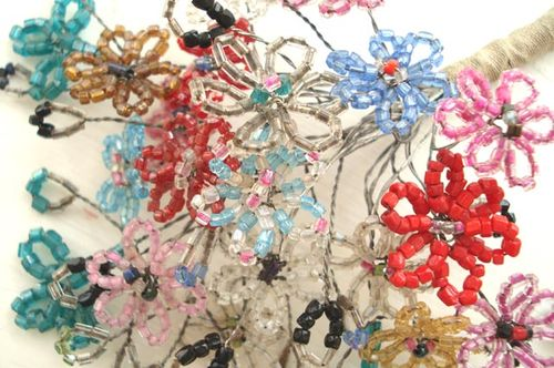 French beaded flowers_blog_1
