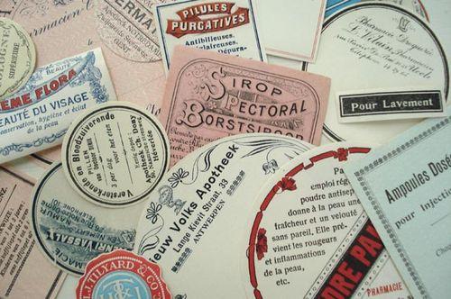 Vintage labels_1