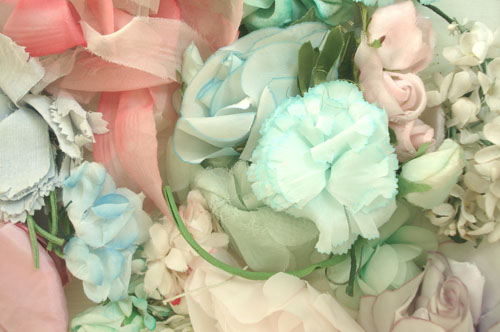 Brimfield finds_millinery flowers_2