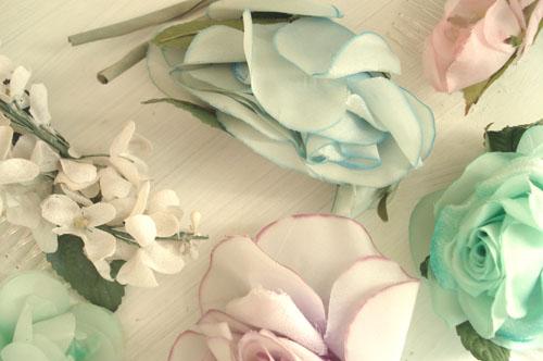 Brimfield finds_millinery flowers_8