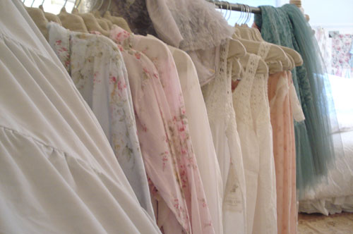 Such Pretty Things: A Big Thank You and a Visit to Shabby Chic Couture