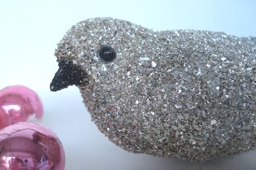 Bird glitter-large