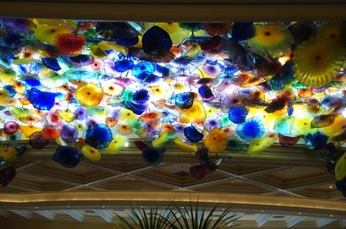 Bellagio_glass ceiling