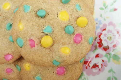 Smartie cookies_3