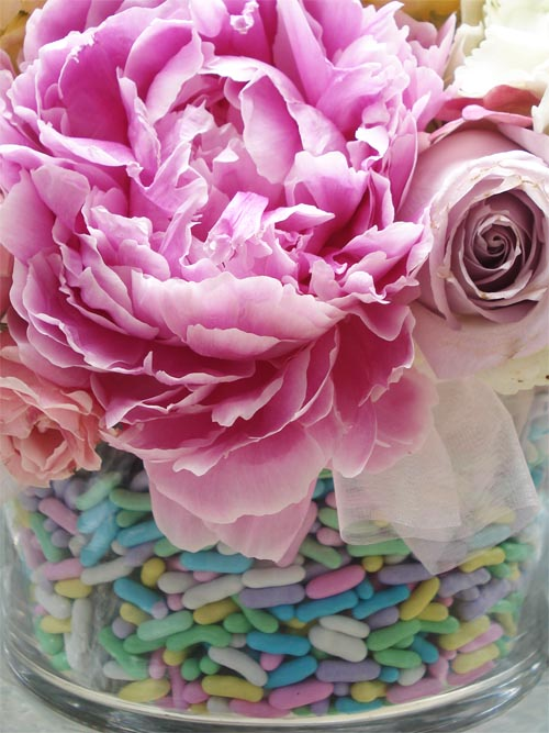 Such pretty things candy flowers centerpiece tutorial