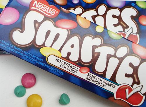 Smartie cookies_4