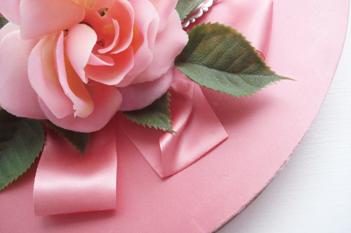 Valentine box_large pink satin with rose_large_1