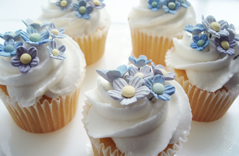 Forget me nots cupcakes_5
