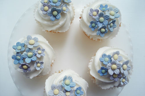 Forget me nots cupcakes_4
