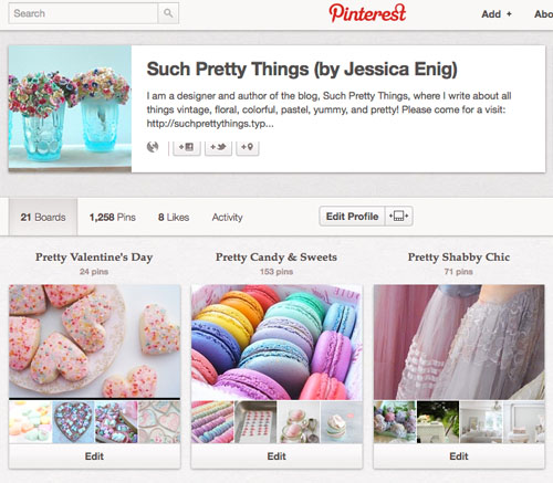 Pinterest boards_2