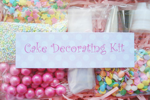 Cake decorating kit_3