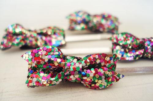 Glitter bows_3