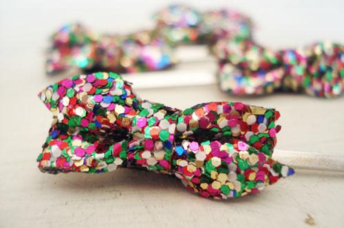 Glitter bows_1