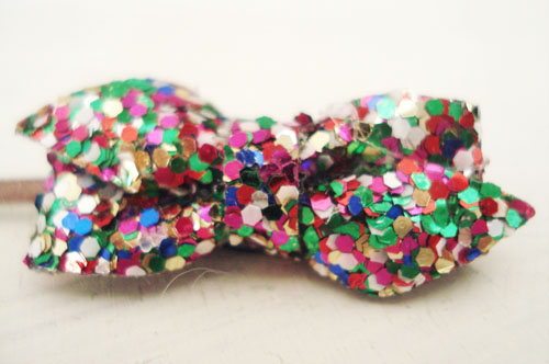 Glitter bows_2