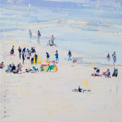 Paul ferney beach painting_blog_1