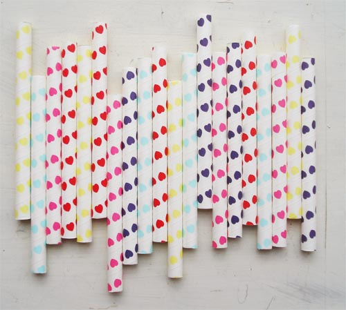 Valentine straws and tape_3