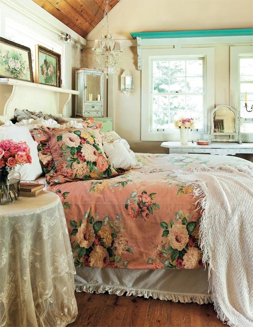 Annie sloan_pink bed