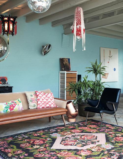 Bohemian modern_sofa