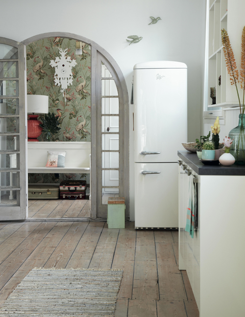 Bohemian modern_white kitchen