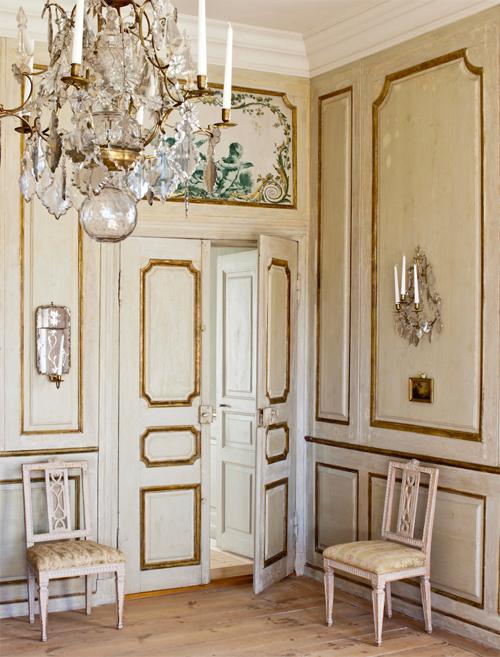 Annie sloan cream room
