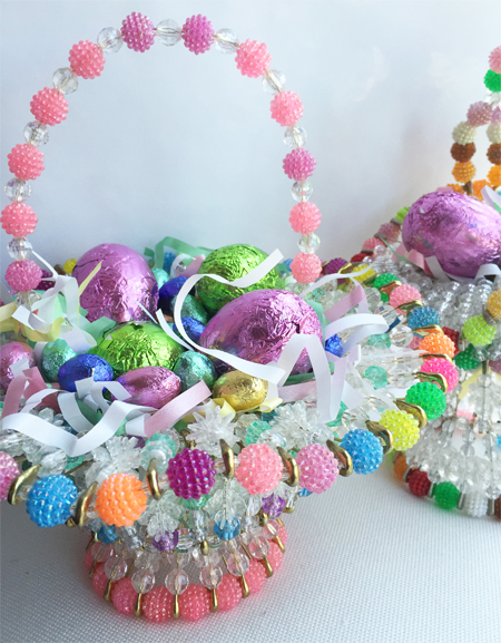 Beaded easter baskets_1